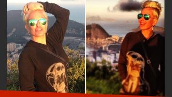 El radical cambio de look de Daniela Cardone (Foto: Twitter).