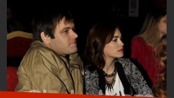Lali Espósito y Benjamín Amadeo fueron a ver a Gastón Soffritti. (Foto: Jennifer Rubio-Ciudad.com)