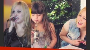 Karina suspendió sus shows y festeja el cumple de su hija Sol (Fotos: Web).