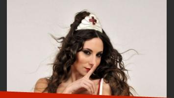 Magui Bravi, una diosa como la enfermera hot de Los Grimaldi (Foto: Prensa).