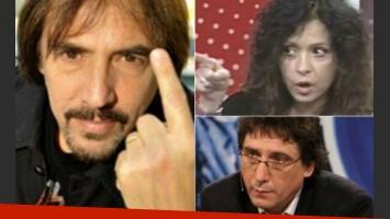Sigue el conflicto entre Lerner, Mediavilla y Patricia Sosa. (Fotos: Web)