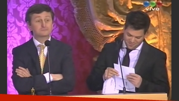 Diego Korol y Guido Kaczka, incómodos. (Foto: Captura TV)