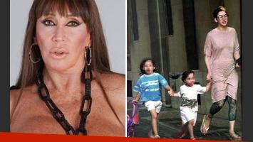 Moria Casán contó el accidente de su nieta Helena, hija de Sofía Gala. (Foto: Web)