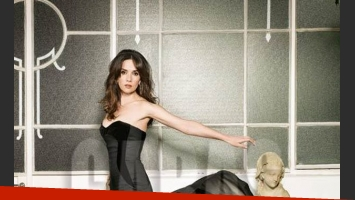 La sensual producción de fotos de Natalia Oreiro (Foto: revista Caras).