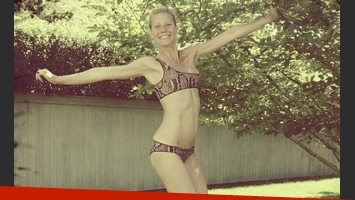 La increíble y sexy figura de Gwyneth Paltrow. (Foto: instagram.com/stellamccartney)
