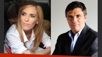 Viviana Canosa no convive con Alejandro Borensztein (Fotos: Web).