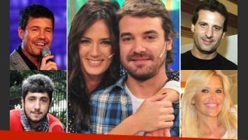 Paula Chaves y Pedro Alfonso recibieron las felicitaciones de sus amigos por Twitter. (Fotos: Web)