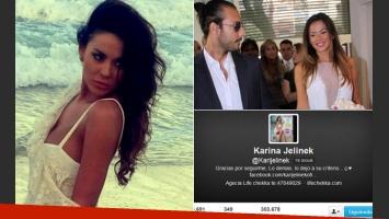 Karina Jelinek volvió a expresarse en Twitter. (Foto: archivo Web)