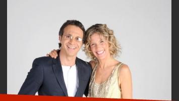Sergio Lapegüe y Maru Botana, la dupla de Sábado en casa. (Foto: prensa El Trece)