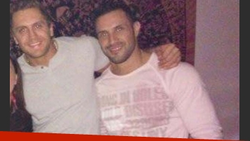 Emiliano Boscatto y Claudio.. (Foto: Facebook de Emiliano Boscato)