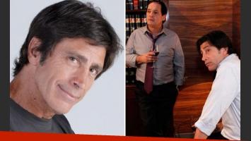 Nicolás Repetto y su participación en Farsantes (Fotos: Web).