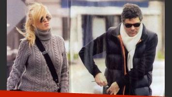 Viviana Canosa y Alejandro Borensztein viajaron a Punta del Este. (Foto: archivo revista Gente)