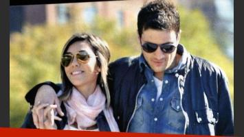 Floppy y su novio Ramiro. (Foto. revista Gente)