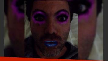 Cristian Castro y su imagen con mucho color. (Foto: Twitter @CristianCastro)