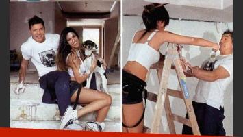 Bárbara Franco y Fernando Burlando decoraron la casa de barrio Parque. (Foto: revista Gente)