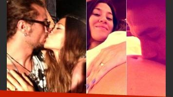 Jimena Barón anunció su embarazo y desató la bronca de una de las ex de Daniel Osvaldo. (Fotos: Web y Twitter)