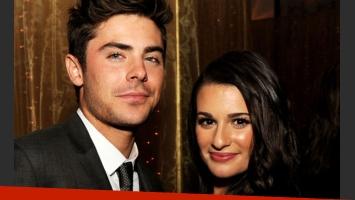 Lea Michele quiere salvar a Zac Efron de sus adicciones. (Foto: Web)
