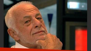 Gerardo Sofovich, internado por un problema cardíaco (Foto: Web).