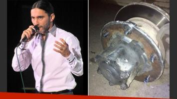 El mal momento de Daniel Agostini: el relato del accidente automovilístico que sufrió. (Foto: Twitter)