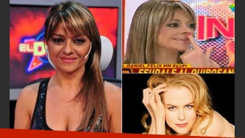 ¿Seguirá Marcela Feudale con su cambio de look? (Fotos: Capturas TV y Web)