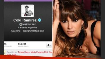 Coki Ramírez, indignada con La Pelu. (Foto: Twitter)