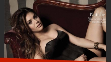 Natalie Pérez, la diosa de tapa de revista SH. (Foto: Revista SH)