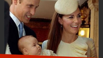 William y Kate Middleton bautizaron al príncipe George. (Foto: @ClarenceHouse)