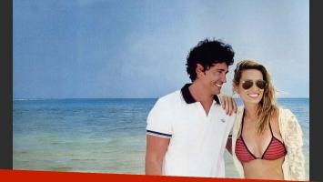 Las románticas vacaciones de Ivana Saccani y Sebastián Estevanez en México. (Foto: Caras)