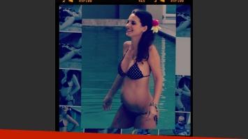 Sabrina Garciarena, sexy en bikini y con pancita. (Foto: Instagram Sabrygarciarena)