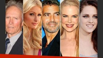 Las extrañas mascotas de cinco estrellas de Hollywood. (Foto: Web)