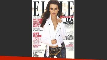 """Lea Michele: """"Sé que Cory querría que yo controlase la situación y la usara para ayudar a la gente"""". (Foto: revista Elle)"""
