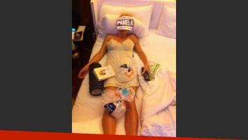 Pamela Anderson corrió la maratón de Nueva York y terminó en cama. (Foto: @PamelaDAnderson)