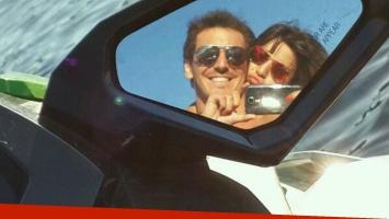Gianinna Maradona y unas románticas vacaciones con su novio (Foto: Twitter).