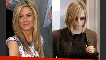 El nuevo look de Jennifer Aniston. (Foto: web/ X17online.copm)