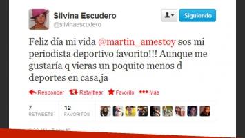El suspicaz tweet de Escudero. (Foto: captura)