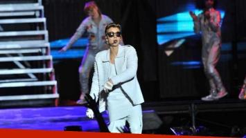 Justin Bieber en Córdoba. (Foto: La Voz del Interior)