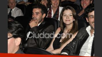 Nicolás Cabré y la China Suárez en el último evento público al que fueron juntos (Fotos: Jennifer Rubio).