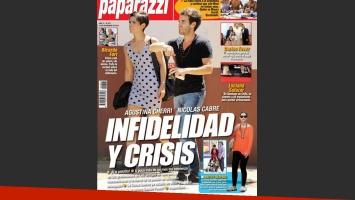 La tapa de Paparazzi sobre Cabré y Cherri (Foto: Paparazzi).