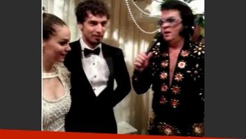 El casamiento de Luz Cipriota y Dante Spinetta en Las Vegas (Foto: Twitter).