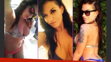 Sofía Clerici y su producción de fotos tuiteras (Foto: Twitter)