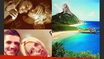 ¿Wanda y Mauro se irán en secreto a una isla en Brasil? (Fotos: Web).