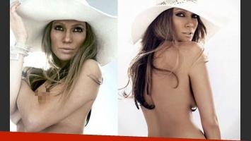 Jennifer Lopez: aparecen fotos de la cantante semi desnuda y sin Photoshop. (Foto: Web)