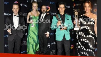 Los ganadores de los Premios Tato 2013 (Fotos: Jennifer Rubio).