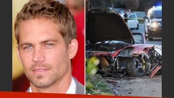 La muerte de Paul Walker: Aseguran que el exceso de velocidad fue el único motivo del fatal accidente. (Foto: Web)