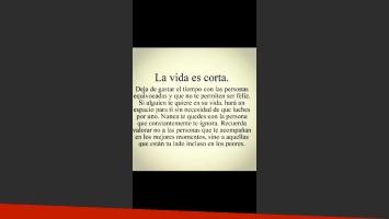 Wanda Nara y una romántica reflexión sobre la vida... dedicada a Mauro Icardi (Foto: Twitter.com/wanditanara))