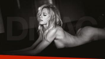 Liz Solari y un impactante desnudo total (Foto: revista DMAG)