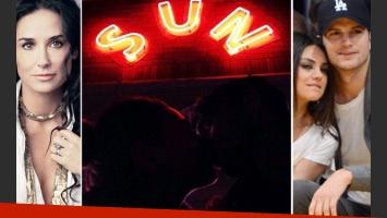 Demi Moore vende su anillo y Ashton Kutcher publica una foto besando a Mila Kunis. (Foto: Web/@aplusk)