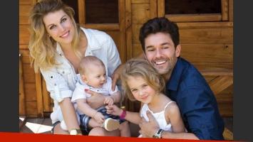 Mariano Martínez, enamorado de su mujer y sus hijos (Foto: Revista ¡Hola! Argentina).