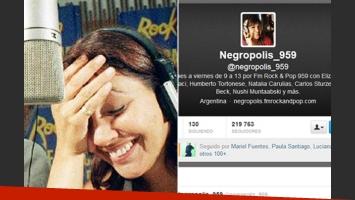 La Negra Vernaci, explosiva en Twitter. (Fotos: Web y Twitter)