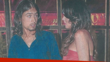 Karina Jelinek y Juan Soler, ¿en pareja? (Foto: Revista Semanario).